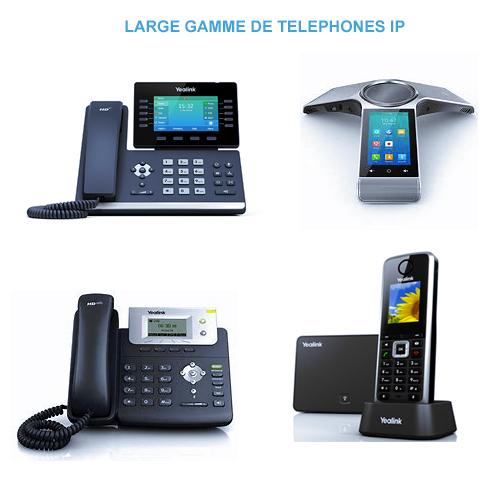 Téléphones VoIP pour les entreprises TPE et PME